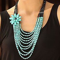 Click on the pic to get this necklace for $134.94 from Sukanya Thongperm in Thailand (and read her story!)