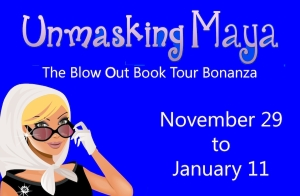Unmasking Maya Blog Tour Button