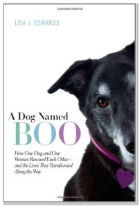 "Click the pic to get ""A Dog Named Boo"" on Amazon"