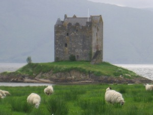 Well, I'm not from this castle, but the country it's in, yes (From Man-Beast's photo collection)
