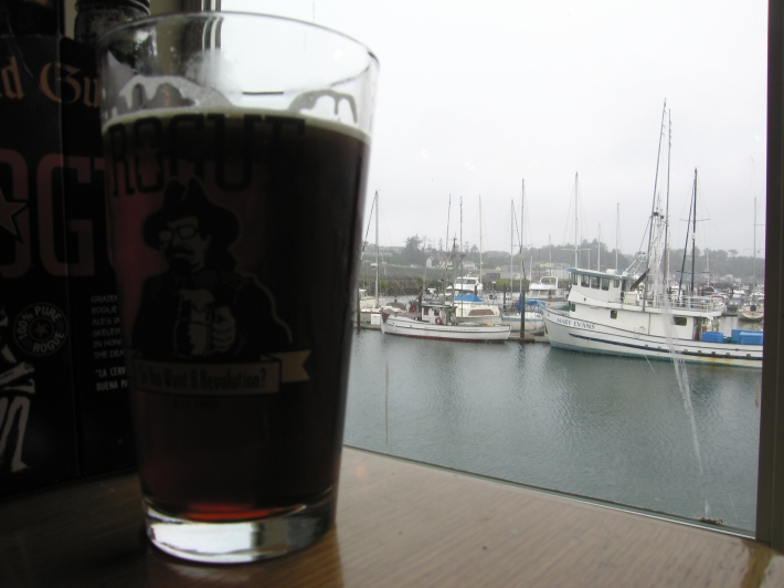 I'll take a brown ale and a view, please
