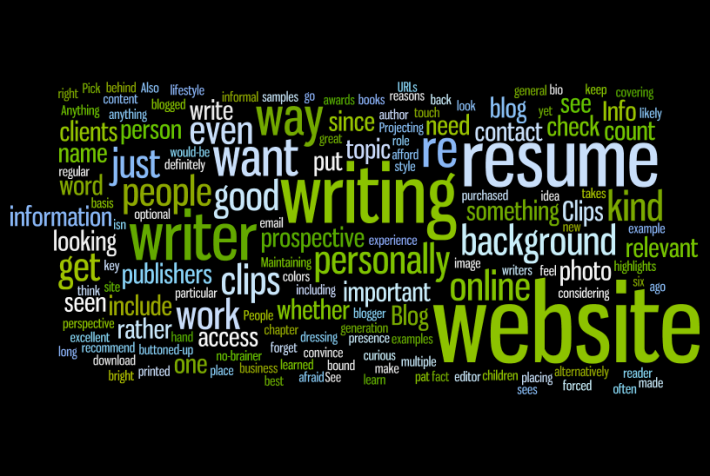 Image credited with Wordle.net