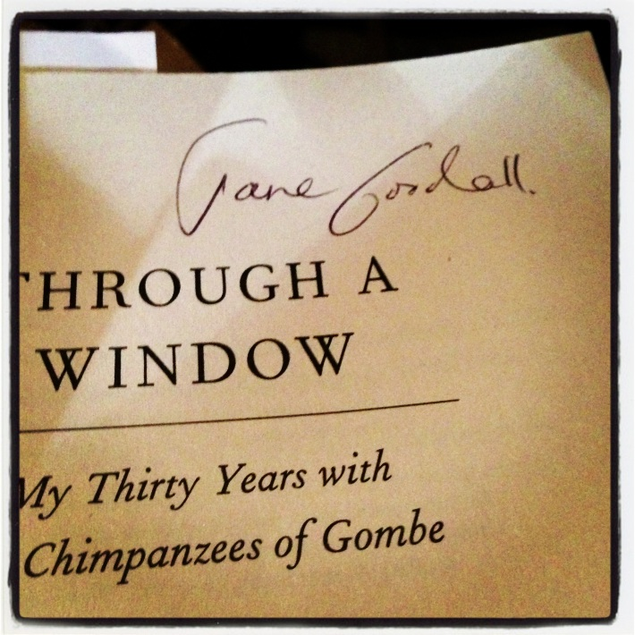 She autographed my book!