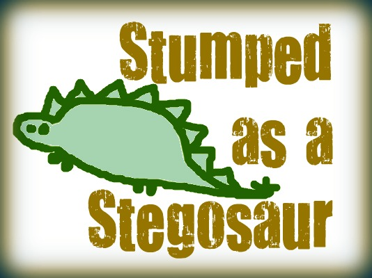 stegosaur RIBBIT