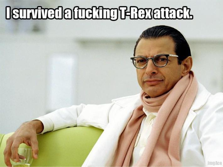 trex attack MEME