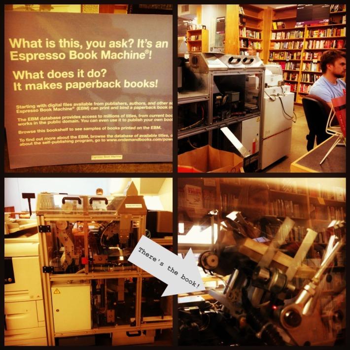 The Espresso Book Machine - turning ebooks into paperbacks